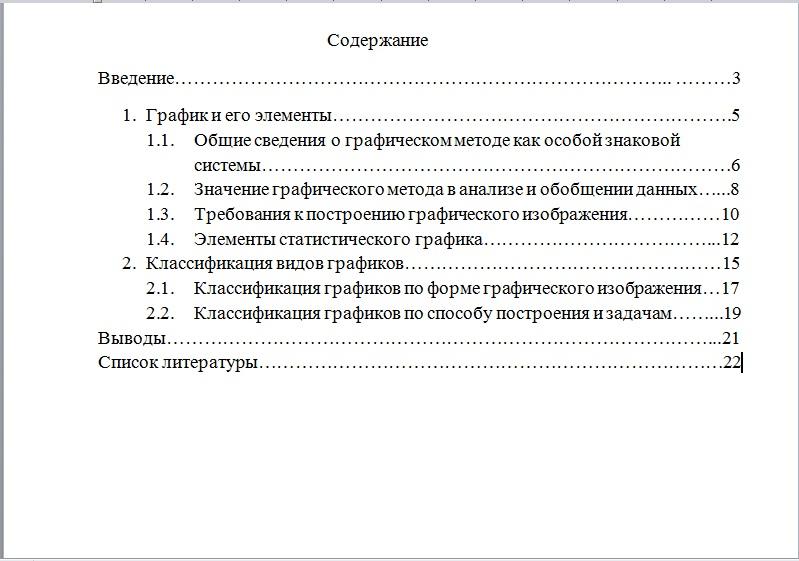 📝Как правильно оформить контрольную работу  Классификация видов графиков выглядит так содержание контрольной работы